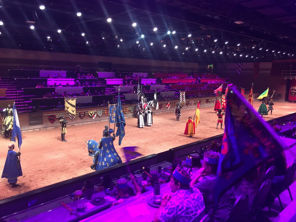 Scottsdale AZ Medieval Times Dinner and Tournament